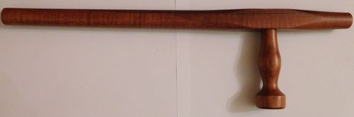 Tonfa blood wood training weapon